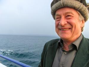 Didier Bouillon sur le Lac Léman