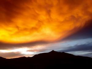 Le même ciel que celui contemplé par les anciens.