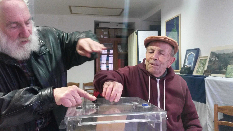 À 89 ans Pierre Antoine Amoni a effectué son devoir de citoyen