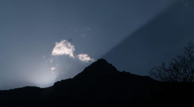 Lumières du soir sur le San Petrone