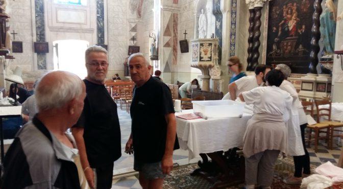 Nettoyage de l'église St Michel
