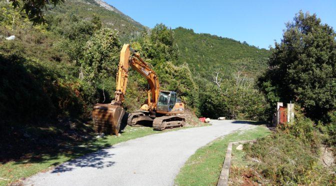 Les travaux du pont de Tigliola commencent