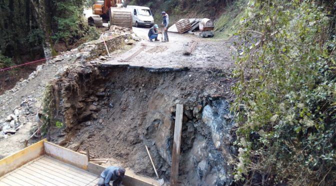 Le pont de Tigliola sera entièrement refait