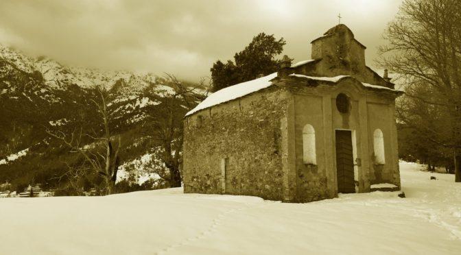 Balade en noir et blanc  à  St Christophe