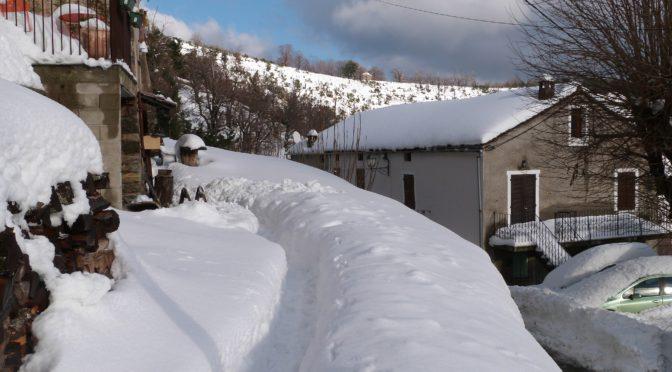 Dernieres images de la neige