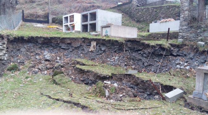 De gros dégâts au cimetière communal