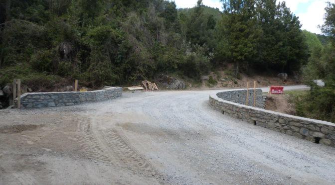 Le pont de Tigliola est ouvert