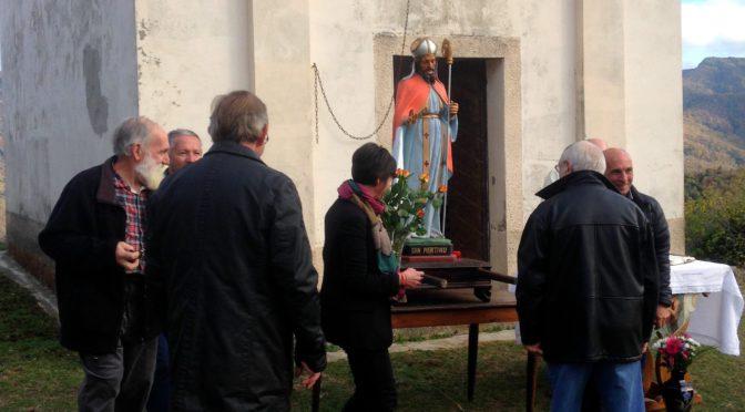 Messe champêtre à l'Erbagghiu pour St Martin