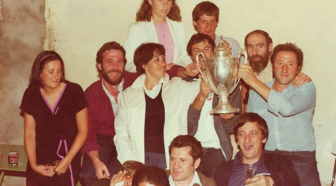il y a pres de 40 ans la coupe de france etait a saint michel