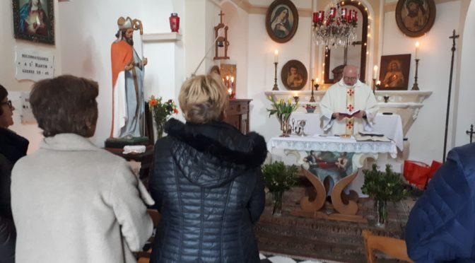 Saint martin fêté malgré le temps maussade