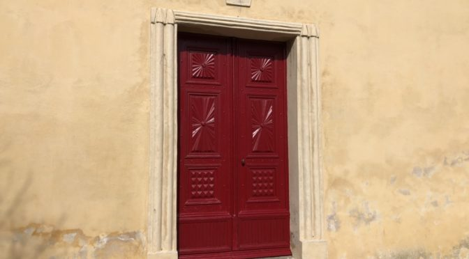 Les portes rouges de saint michel