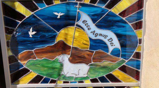 Un VITRAIL pour la chapelle saint jean à Petricaggio